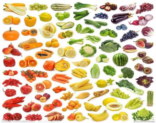 Fruit and Veggie Pic